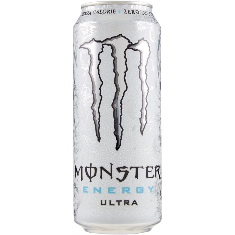 Monster Enery Ultra White senza zuccheri